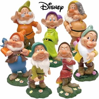 Disney's Seven Dwarfs FULL SET (Set of 7) - Click to enlarge