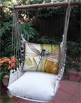 Dragonfly Garden Hammock Chair Swing Set