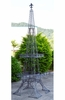 Eiffel Tower Plant Stand - Silver Moss