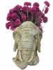 Elephant Mascot Planter - Antique Finish