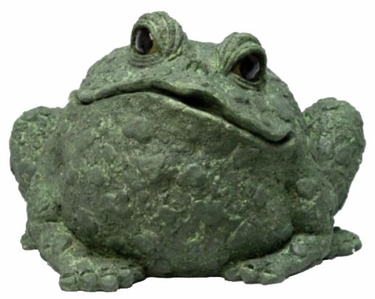 Extra Large Toad - Evergreen - Click to enlarge