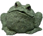 Extra Large Toad - Evergreen