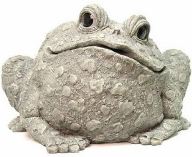 Extra Large Toad - Gray - Click to enlarge
