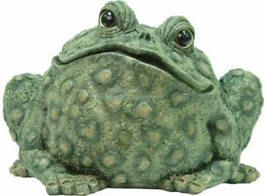 Extra Large Toad - Dark Natural - Click to enlarge