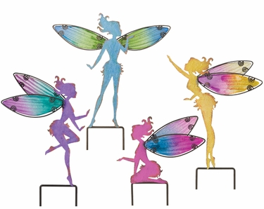 Small Fairy Plant Stakes (Set of 4) - Click to enlarge