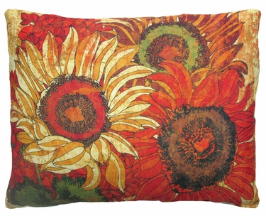 Fall Full Bloom 1 Outdoor Pillow - Click to enlarge