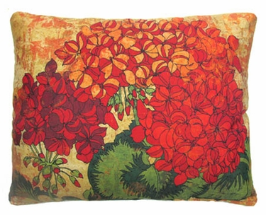 Fall Full Bloom 3 Outdoor Pillow - Click to enlarge