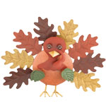 Fall Turkey Decor