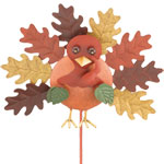 Fall Turkey Garden Stake