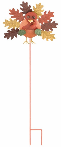 Fall Turkey Garden Stake - Click to enlarge