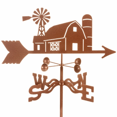 Farm House Weathervane - Click to enlarge