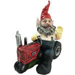Farmer Gnome on Tractor