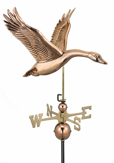 Feathered Goose Weathervane - Click to enlarge