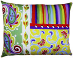 Fine & Dandy Paisley Outdoor Pillow