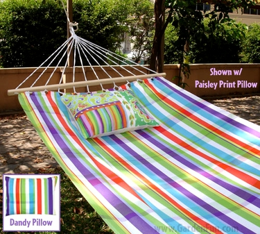 Fine & Dandy Striped Fabric Hammock - Click to enlarge