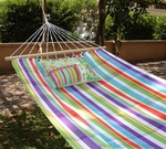 Fine & Dandy Striped Fabric Hammock