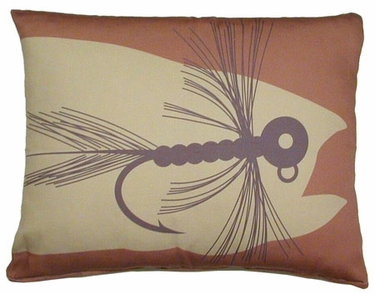 Fishing Lure Outdoor Pillow - Click to enlarge