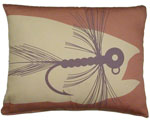 Fishing Lure Outdoor Pillow