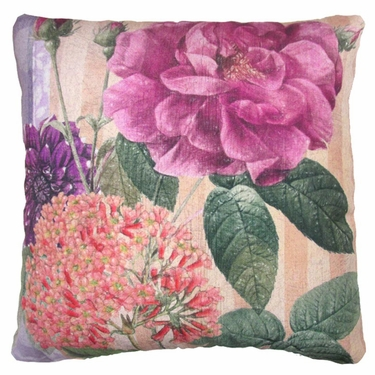Flora Belle 1 Outdoor Pillow - Click to enlarge