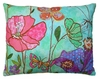 Floral Canvas Outdoor Pillow