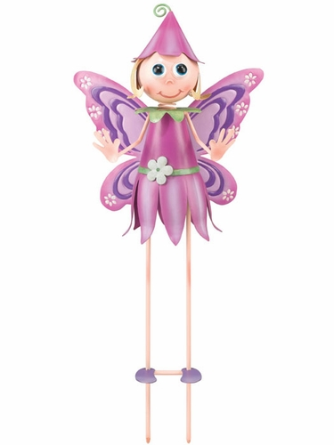 Flower Fairy Garden Stake - Click to enlarge