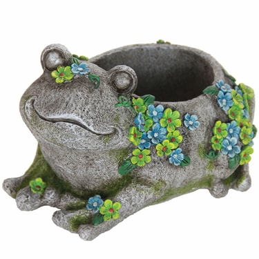 Flower Frog Planter - Click to enlarge