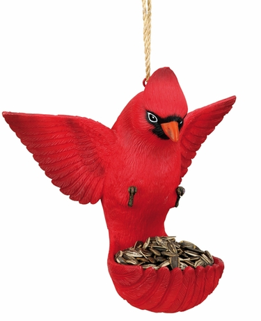 Flying Bird Feeder - Cardinal - Click to enlarge