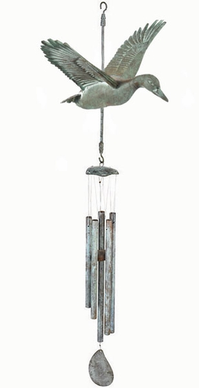 Flying Duck Wind Chime - Click to enlarge
