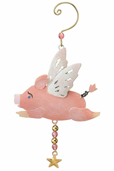 Flying Pig Adornment - Click to enlarge