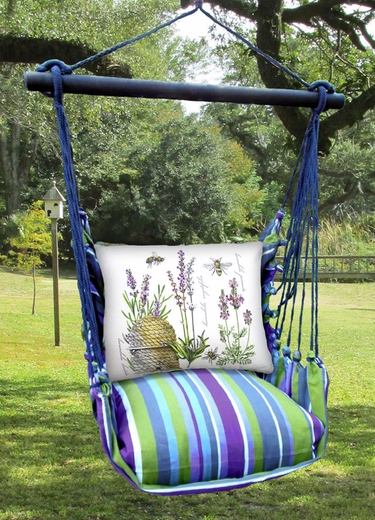 Folsom Bee Hive Hammock Chair Swing Set - Click to enlarge