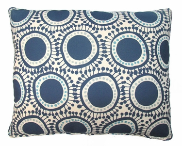 Folsom Blue Circles Outdoor Pillow - Click to enlarge