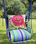 Folsom Bold Blossom 2 Hammock Chair Swing Set
