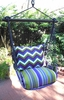 Folsom Stripe Chevron Hammock Chair Swing Set
