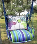 Folsom Wine Glasses Hammock Chair Swing Set