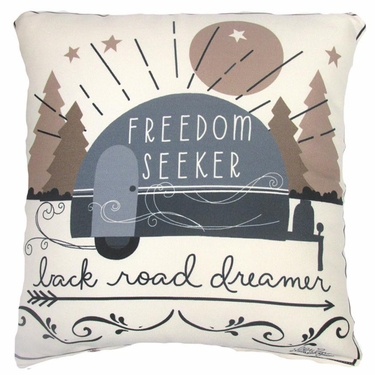 Freedom Seeker Outdoor Pillow - Click to enlarge