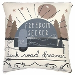 Freedom Seeker Outdoor Pillow