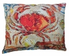 Fresh Catch Crab Outdoor Pillow