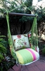 Fresh Lime Hummingbird Hammock Chair Swing Set