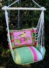 Fresh Lime Ladybird Hammock Chair Swing Set