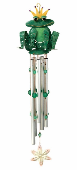 Frog Prince Wind Chime - Click to enlarge