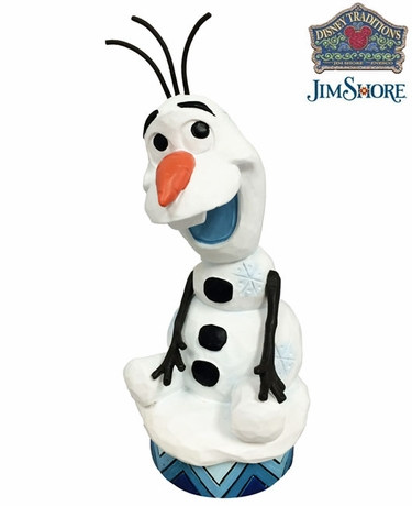 Frozen Olaf Silly Snowman Figurine - Click to enlarge