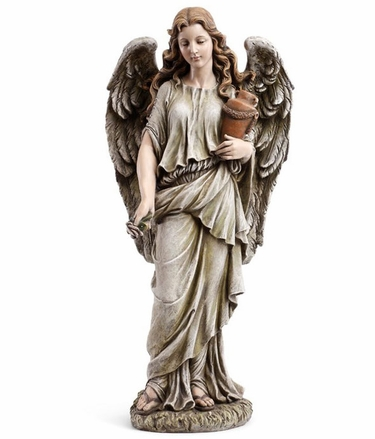 Garden Angel with Urn - Click to enlarge