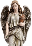 Garden Angel with Urn