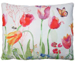 Garden Aviary Butterfly Outdoor Pillow