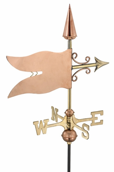 Garden Banner Weathervane - Click to enlarge