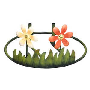 Garden Decor Display - Flowers (9.75 x 5)  - Click to enlarge