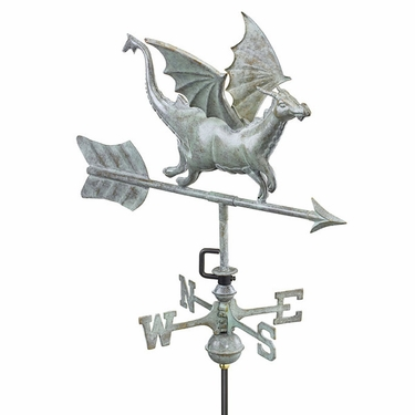 Garden Dragon Weathervane - Click to enlarge