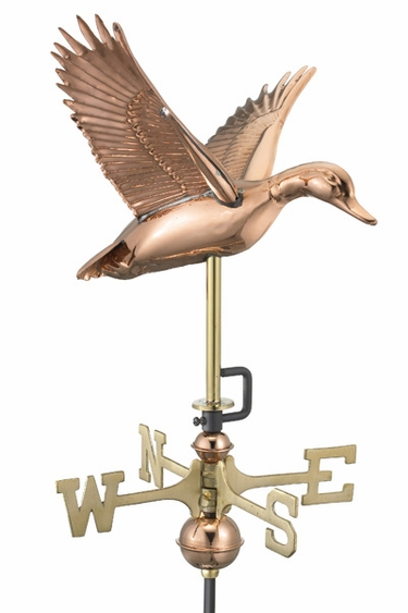 Garden Duck Weathervane - Click to enlarge