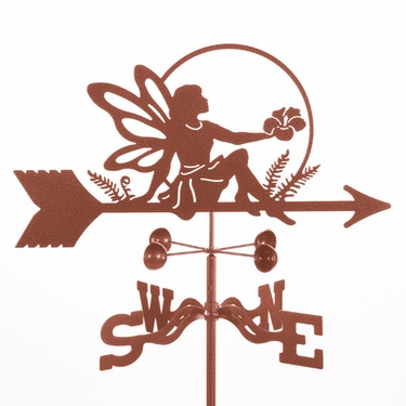 Garden Fairy Weathervane - Click to enlarge