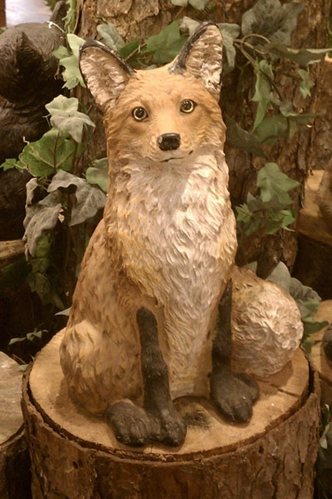 Garden Fox Statue - Click to enlarge